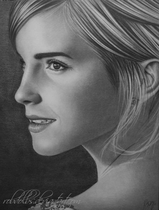 Emma Watson by robdolbs